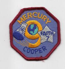 Mercury 9 patch (Gordon Cooper) - Faith 7