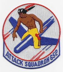 US Navy Attack Squadron VA-652 patch