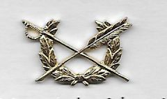 Army Judge Advocate General Corps Officer Lapel Insignia