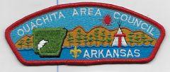 Boy Scout patch Ouachita Area Council Arkansas