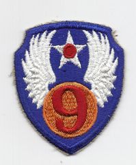 World War II 9th Army Air Corps patch