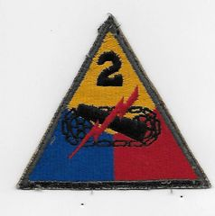 World War II Second Armored Division patch