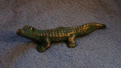 Cast Iron Alligator Paper Weight