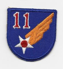 World War II 11th Army Air Corps patch