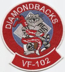 VF-102 Diamondbacks F-14 Tomcat patch