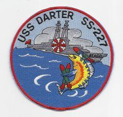 US Navy Submarine USS Darter SS-227 patch