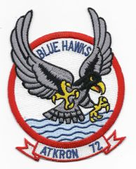 "US Navy Attack Squadron VA-72 ""Blue Hawks"" patch"