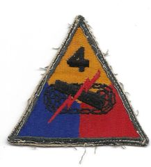 World War II 4th Armored Division patch
