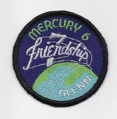 Mercury 6 patch - (John Glenn) - Friendship 7