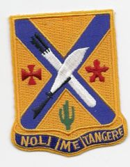 "Army 2nd Infantry Regiment ""Noli Me Tangere"" Patch"