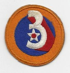 World War II 3rd Army Air Corps patch