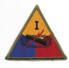 World War II 1st Armored Corps patch