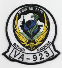 "US Navy Attack Squadron VA-923 ""Rough Raiders"" patch"