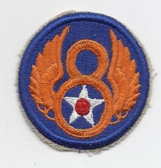 World War II 8th Army Air Corps patch.
