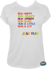 Colors Running Tee
