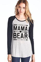 Mama Bear Super Soft Long Sleeve