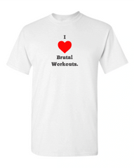 I Heart Brutal Workouts Tri-Blend