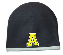 "Avon Embroidered Raised Letter ""A"" Beanie"