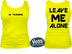 In Training - Leave Me Alone Tank Top