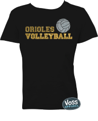 Orioles Volleyball Tee