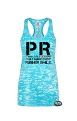PR-Two Little Letters That Make Every Runner Smile-Running - Workout Tank