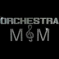 Orchestra Mom Rhinestone Tee, Tank, Long Sleeve, Hoodie