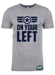 On Your Left Running Tee