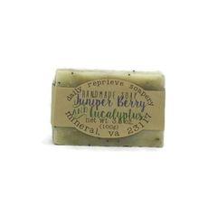 Juniper Berry & Eucalyptus Soap