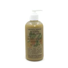 Orange Clove Liquid Scrubby Soap (12 oz)