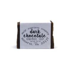 Dark Chocolate Soap