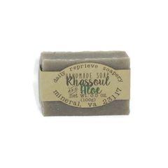 Rhassoul and Aloe Soap (vegan)