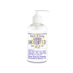 Unscented Goat Milk Hand and Body Lotion (8 oz)