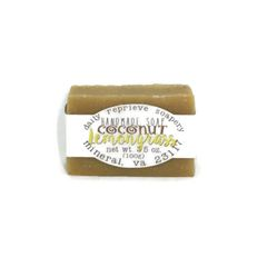 Coconut Lemongrass Soap (vegan)