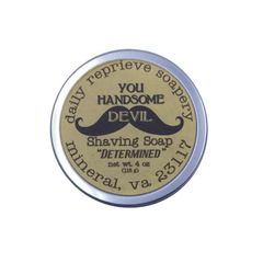 "Shaving Soap ""DETERMINED"""