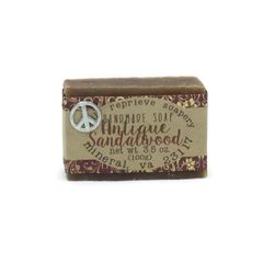 Antique Sandalwood Soap