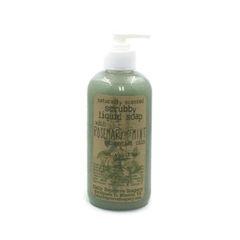 Rosemary Mint Liquid Scrubby Soap (12 oz)