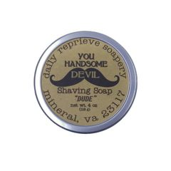 "Shaving Soap ""DUDE"""