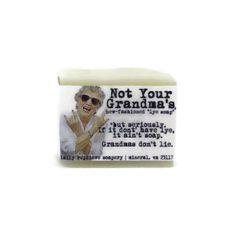 Not Your Grandma's Lye Soap