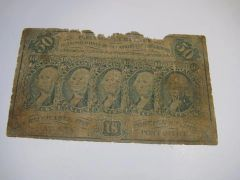 1862 50c Fr1313 AG