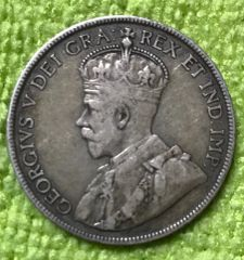 Solid 1917 Half Dollar- clean surfaces, even wear