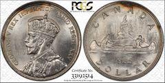 1935 Canada $ PCGS63 lustrous