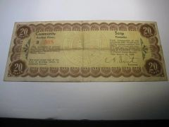 1933 20c Bowling Green Community Scrip SOLD