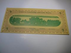 1933 $1 Cambridge & Lake Ripley