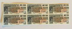 1945 Reading Railroad Company $15 Bond Interest Coupons Monopoly?