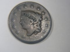 1833 Large Cent AG3