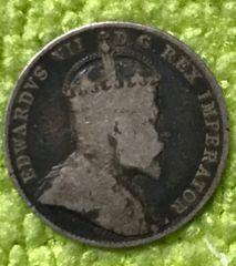Canada 1908 Edward VI Dime