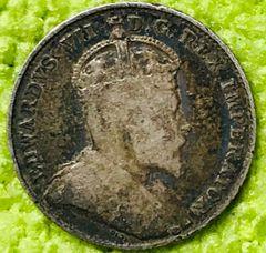 Canada 1904 Edward VI dime