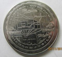 1893-1968 Fairview OK Diamond Jubilee Souvenir Dollar