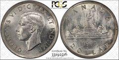 1938 Canada $ PCGS58, nice coin