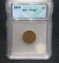 1876 1C VF25
